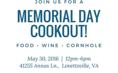 Upcoming Events: Memorial Day Edition